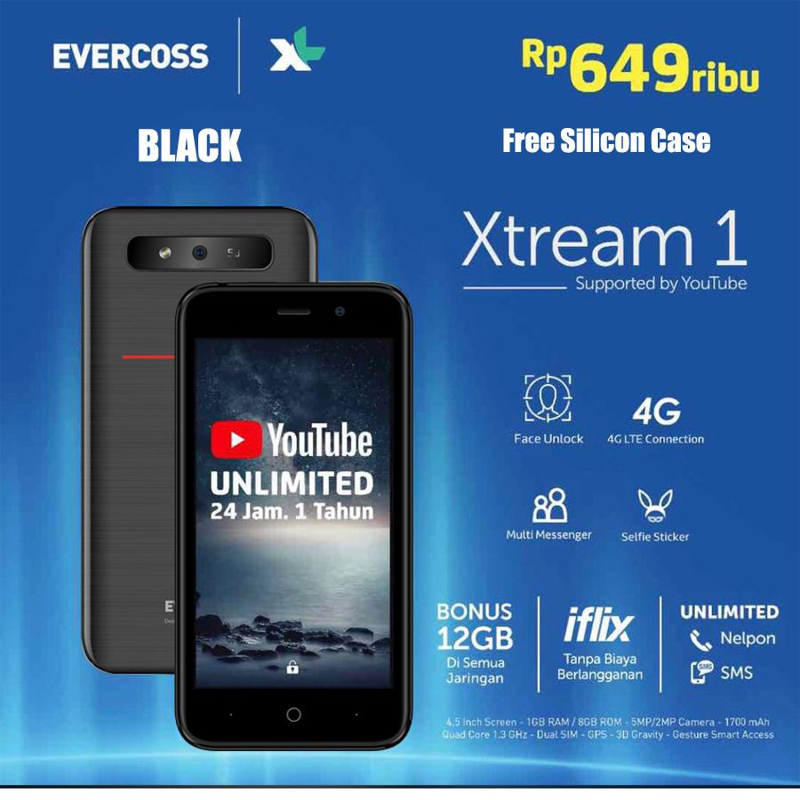 EVERCOSS XTREAM 1 FACE UNLOCK 4.5