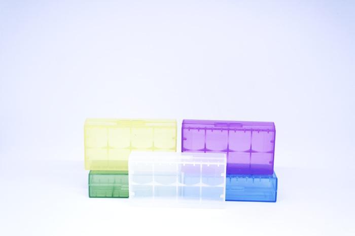 baterai case / batre case 18650 2 buah / 4 buah battery 16340 elegan