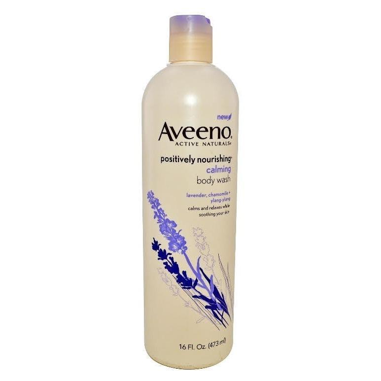 Aveeno Positively Nourishing Calming Body Wash 473ml