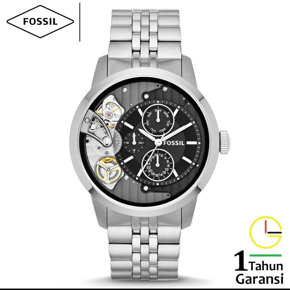 Fossil Analog Digital Jr1506 Jam Tangan Pria Daftar Harga Terbaru Expedition 6631 Black Orange Triple Time Original Me1135 Me1136 Townsman Multifunction Tali Rantai Logam Stainless Steel Twist