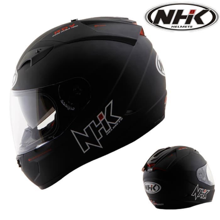terbaru dan termurah Helm NHK GP1000 2 VISOR SOLID