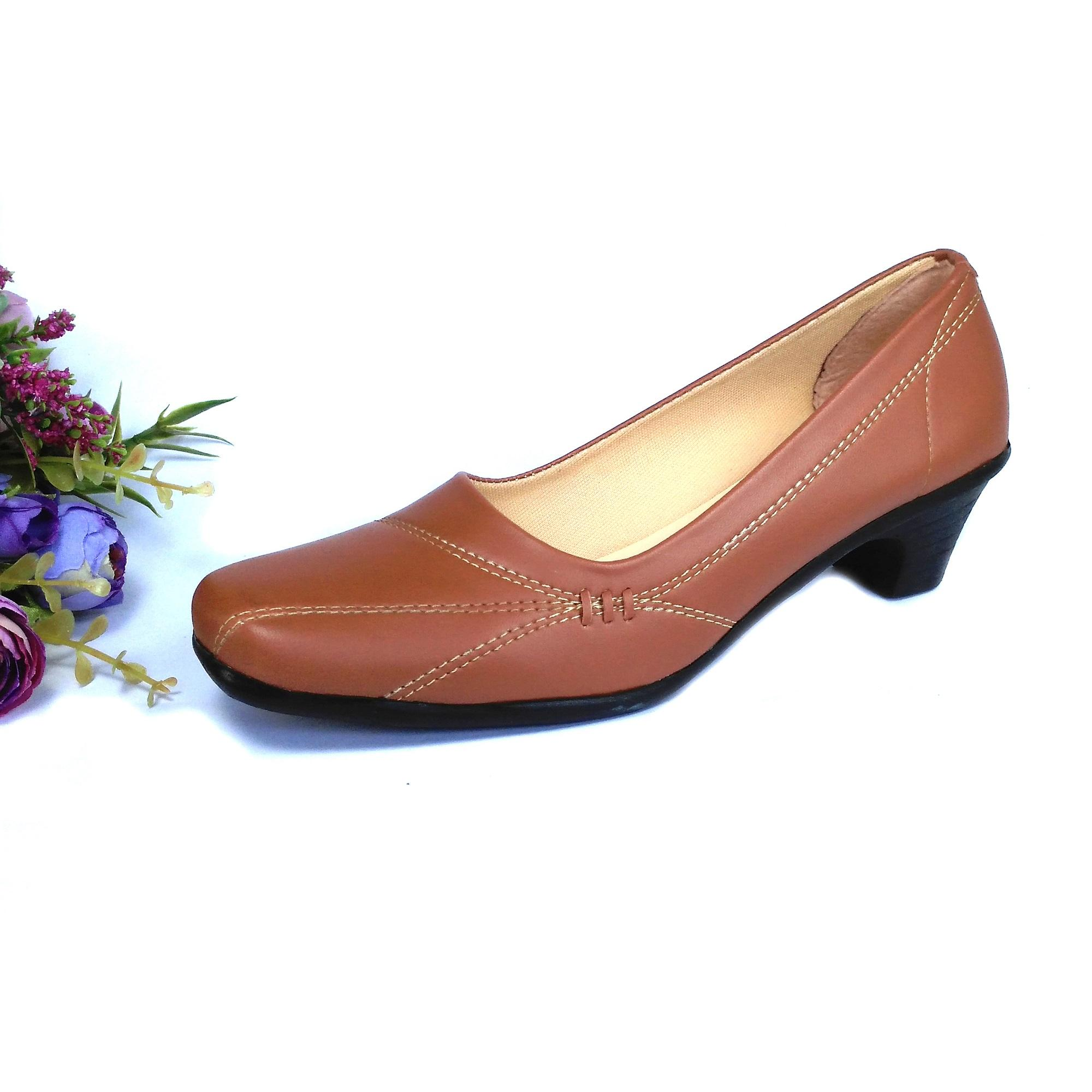 Buy Sell Cheapest 2018 Wanita Mules Best Quality Product Deals Sepatu Platform Elegan Hqo Pantofel Formal Paskibra Bertali