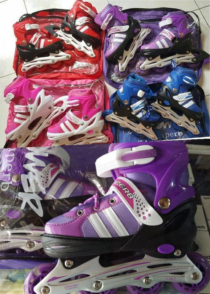 Jual Sepatu Roda/ Inline Skate Jahit Bajaj Power Superb Grosir
