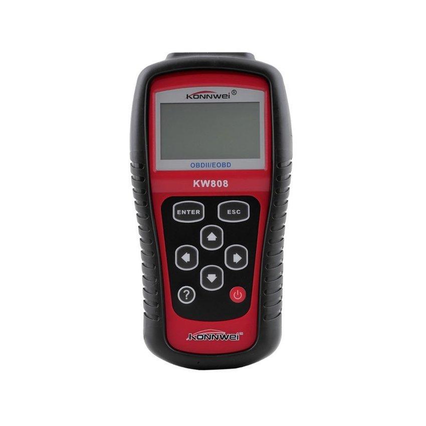 KW808 Eobd OBDII 2 Mobil/Kendaraan Mesin Pemindai Diagnostik Alat Pembaca Kode