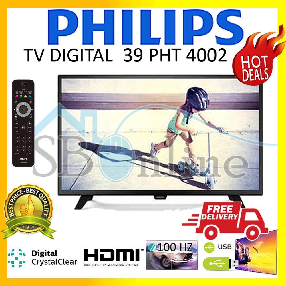 Philips 39PHT4002 Slim LED Tv Digital - 39 Inch Harga Pabrik