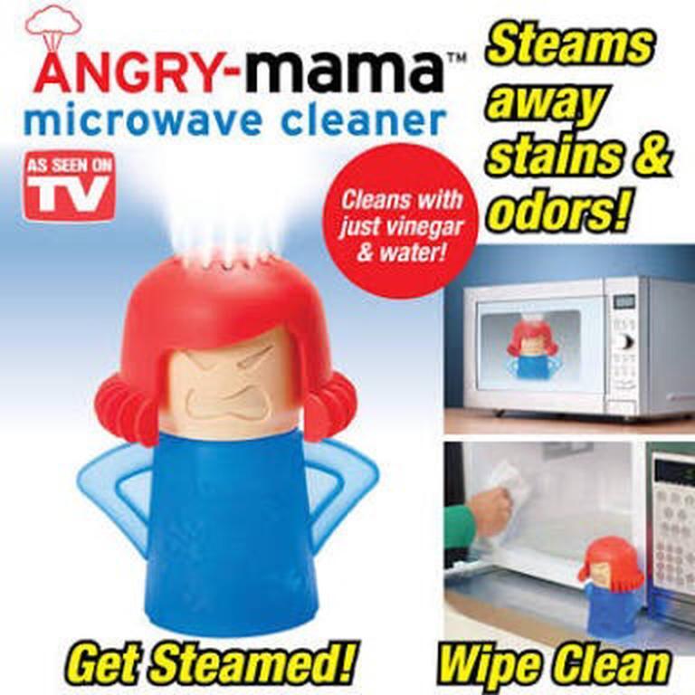 Kado Unik-- Pembersih Microwave Angry Mama / Pembersih Microwave Ovan Steam Cleaner / Alat Untuk Membersihkan Oven / Pembersih Microwave Sistem Uap / Pembersih Oven Murah / Kado Ulang Tahun By Kado Unik--.