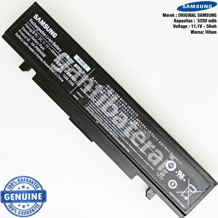 Original Baterai Samsung NP300 NP355V4X NP355E4X NP355U4X AA-PB9NC6B R428 R480