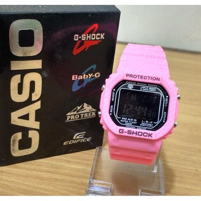 Casio Digital Jam Tangan Sport Fashion Pria dan wanita Water Resist - Limited