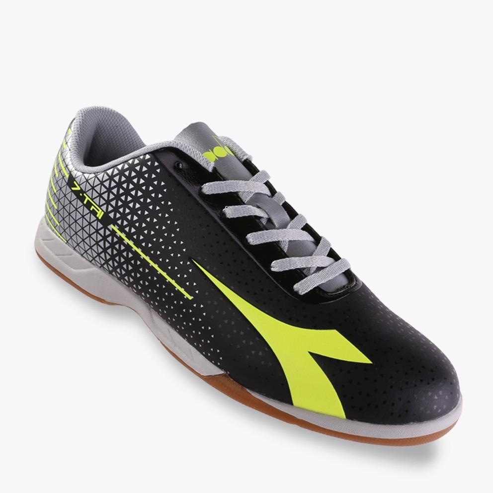 Diadora 7-TRI ID Men's  Futsal Shoes - Hitam