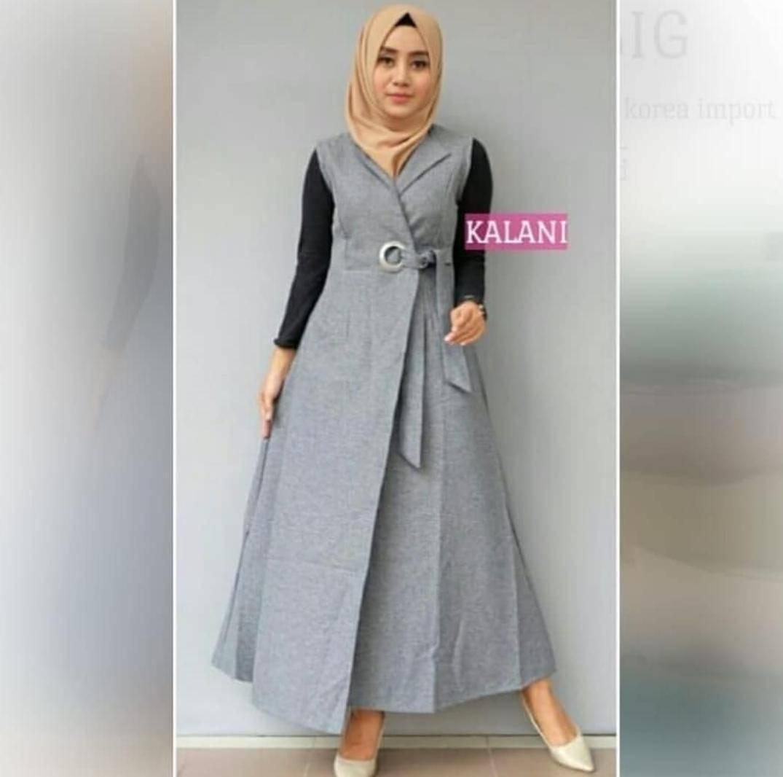 Rp 48.900. AG Apparel Outer Kalani Varian 4 Warna / Dress Muslimah / Hijab Muslim / Gamis Syari / Baju Muslim / Fashion ...
