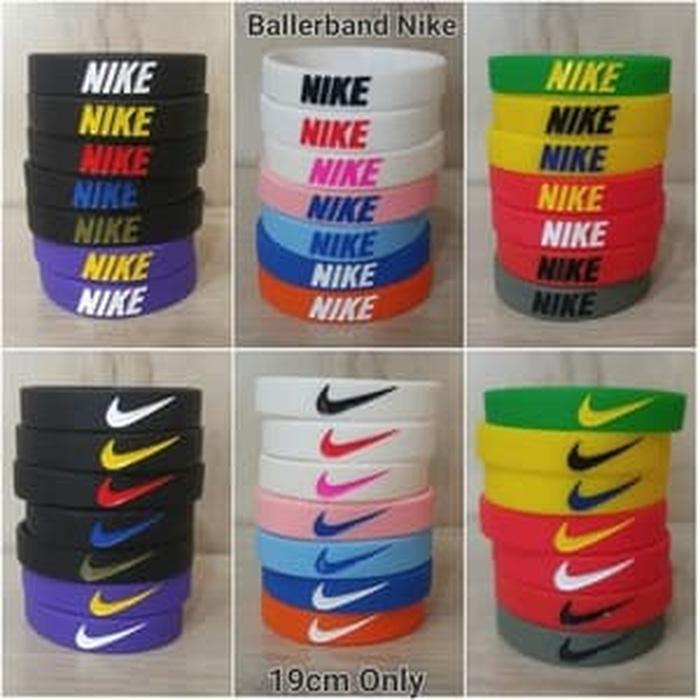 Best Top Seller!! Gelang Nike 16 Warna - ready stock