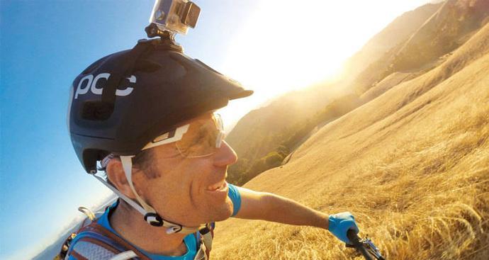 PROMO Helmet Strap Mount for Xiaomi Yi and GoPro Hero untuk Ikat Di helm TERLARIS