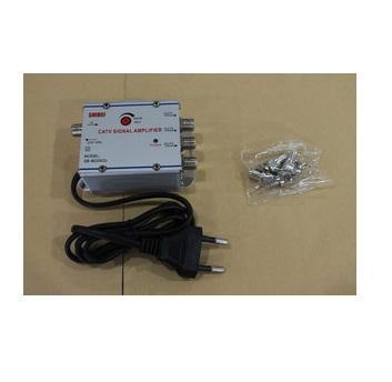 Menguatkan Sinyal TV TANPA EFEK SAMPING. Pakai : Penjernih & Penguat Sinyal TV (TV Signal Booster) + 3 Splitter