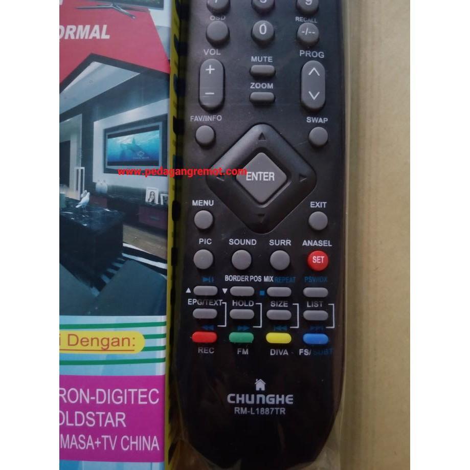 PROMO Remot/Remote TV Tabung/LCD/LED Polytron Multi/Universal
