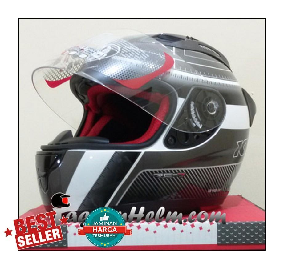 KYT Helm RC Seven #12   White GM Black    RC7  RCSeven  Single Visor