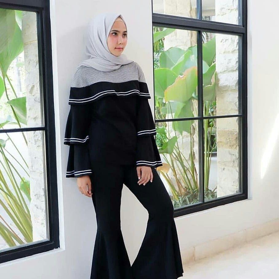 Ilyasshop Rifka Blouse S Hijab Fashion Wanita - Daftar Harga ... ce9aed87f1