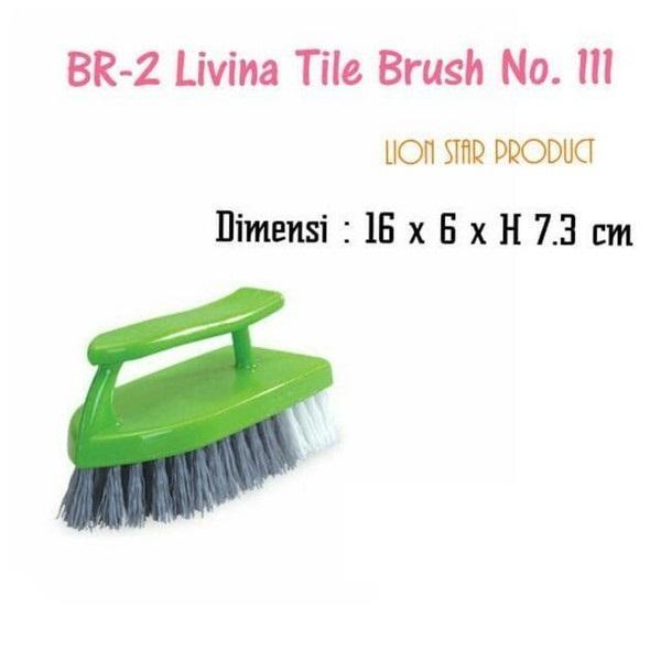 [ TURUN HARGA ] KF - BR-2 Livina Tile Brush No. 111 (