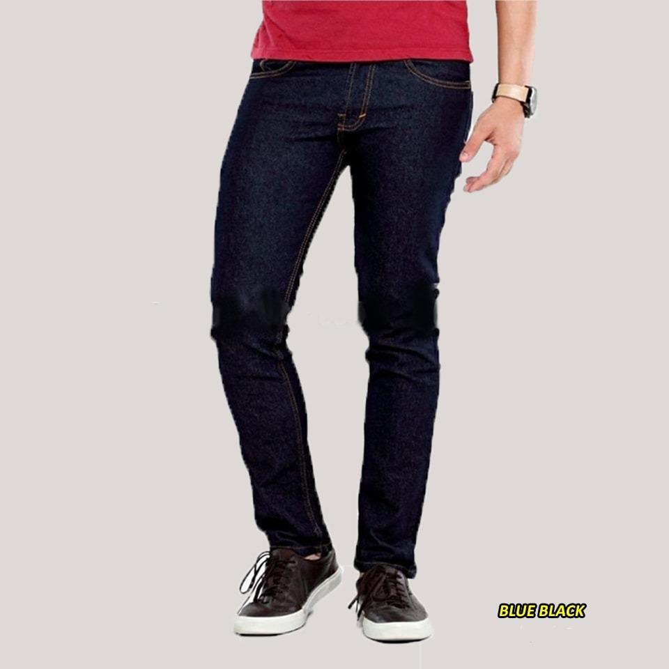 Celana Panjang Denim Jeans Pria Skinny Slim Fit Terbaru