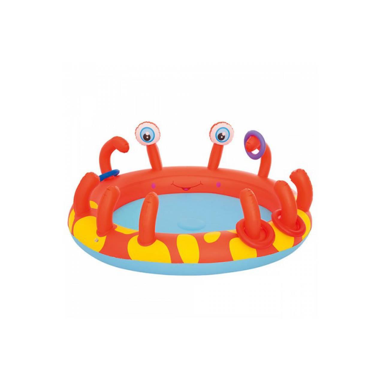 JUAL Kolam Renang Anak Bestway Interactive Crab Play Pool 53058