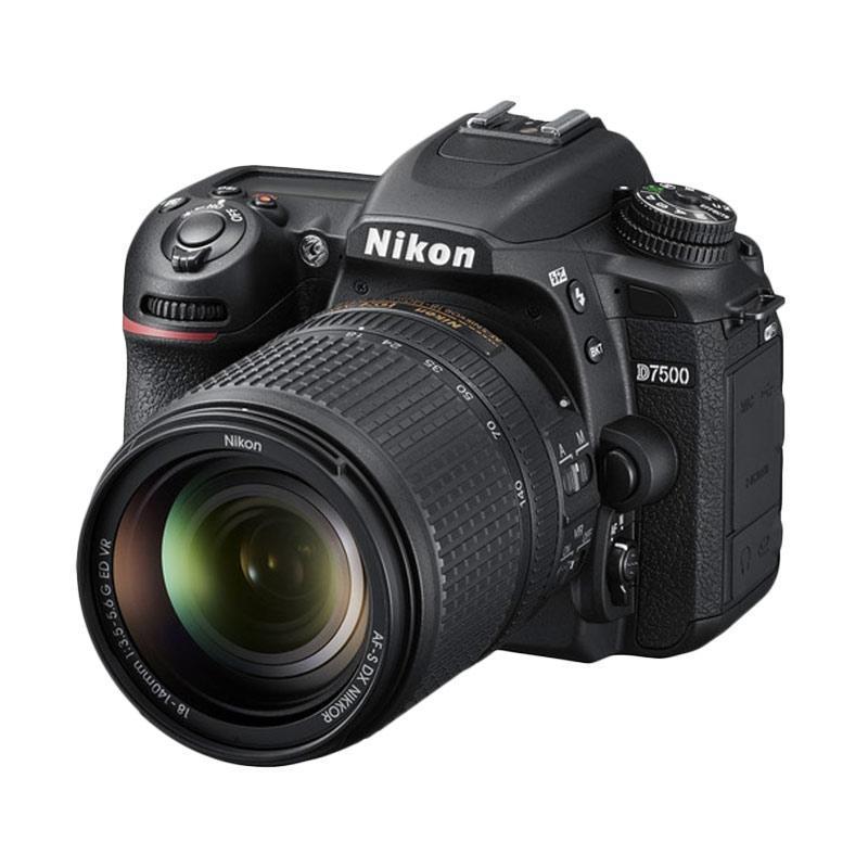 Nikon D7500 kit AF-S DX 18-140mm f/3.5-5.6G ED VR Black