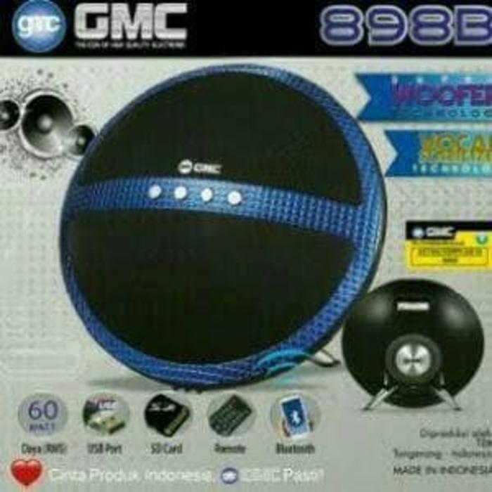 GMC 898B Speaker Aktif Bluetooth - 60 Watt RMS Super Woofer Technology