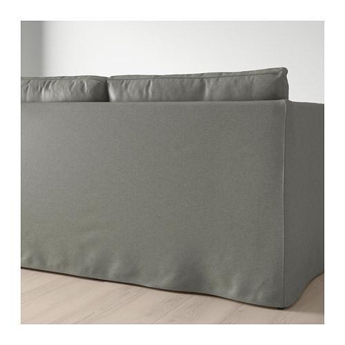 PROMO!! IKEA BRÃ…THULT Sofa 3 dudukan, Borred abu-abu hijau MURAH /  BUBBLE 3 LAPIS / ORIGINAL / IKEA ORIGINAL