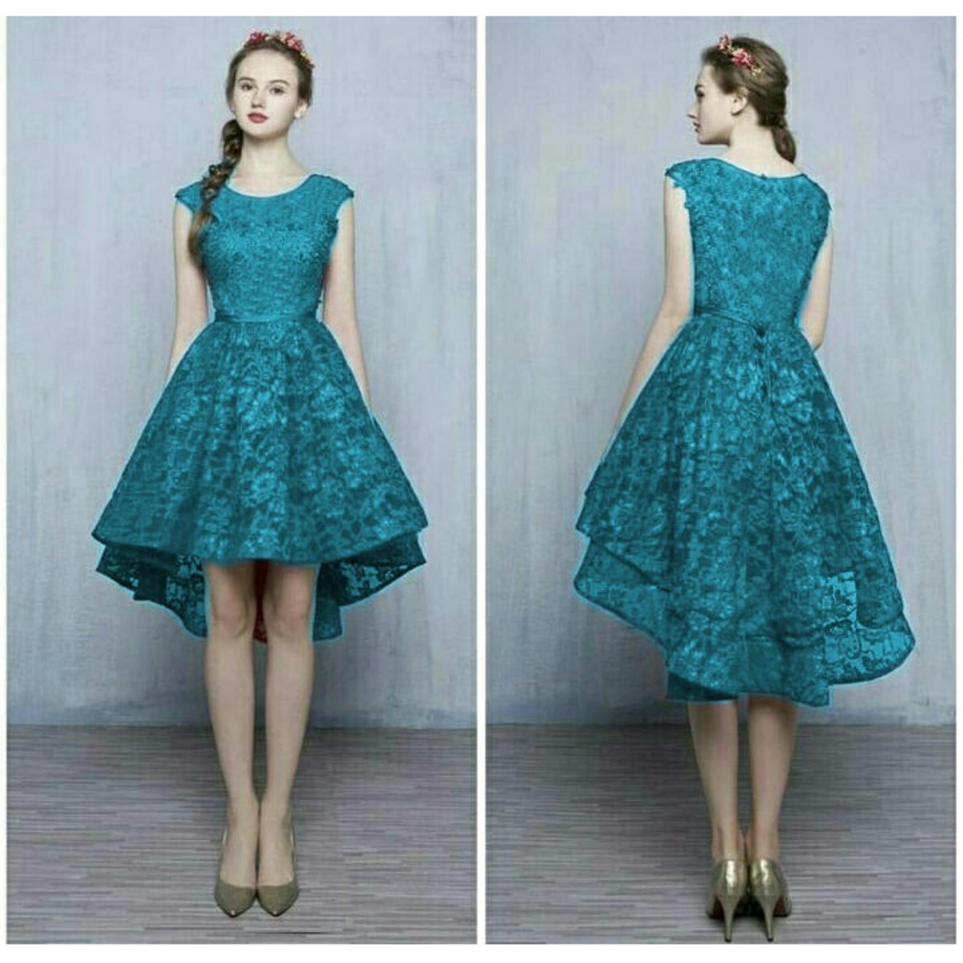 trendshopee Pakaian Wanita Mini Dress Nastusha