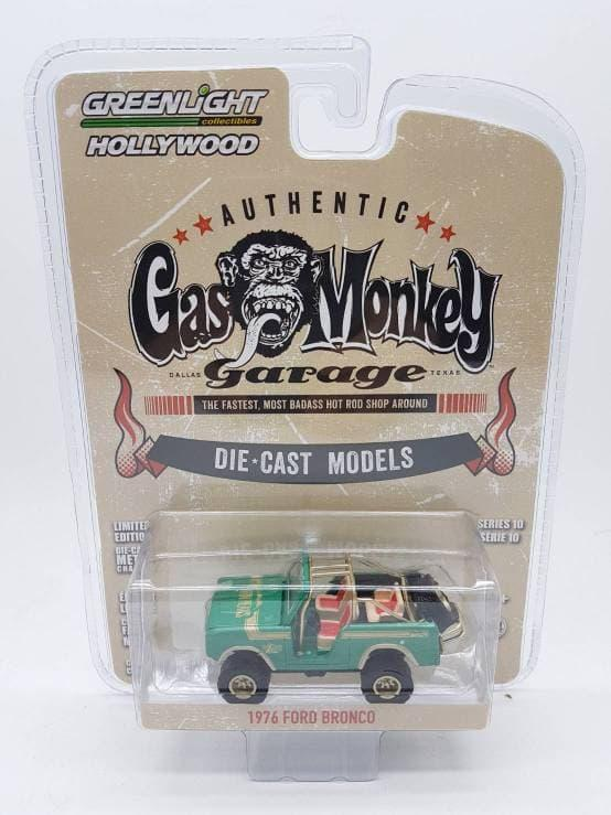 TERLARIS Greenlight 1:64 Gas Monkey Garage 1976 Ford Bronco