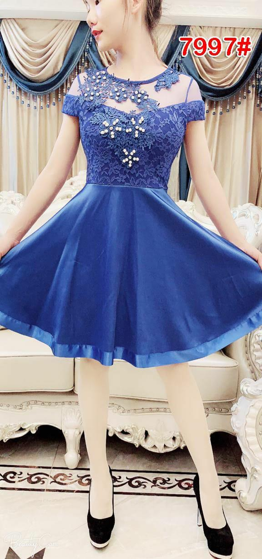 7997  dress mekar   dress chibie   dress import   dress pesta   gaun fashion ed050c581dc55