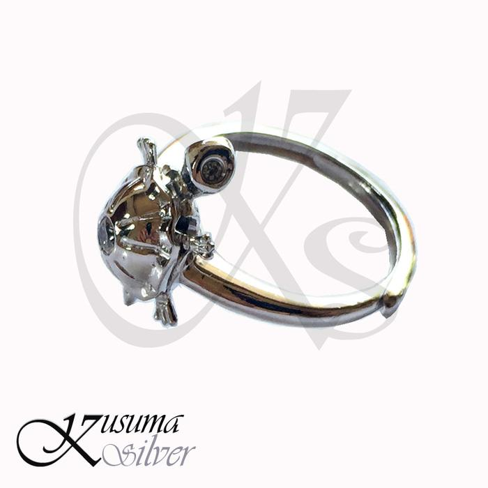 Cincin  Ring Perak  Silver Kura Kura / Penyu