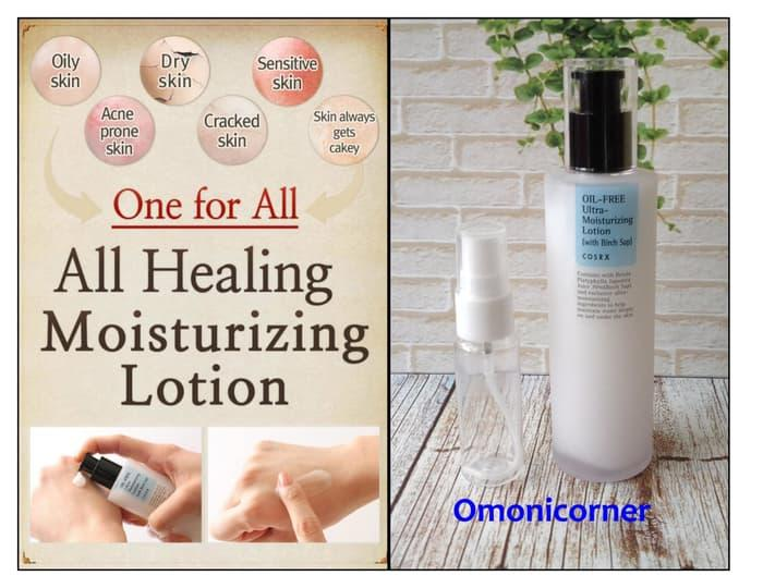 Cosrx Oil-Free Ultra Moisturizing Lotion(With Birch Sap