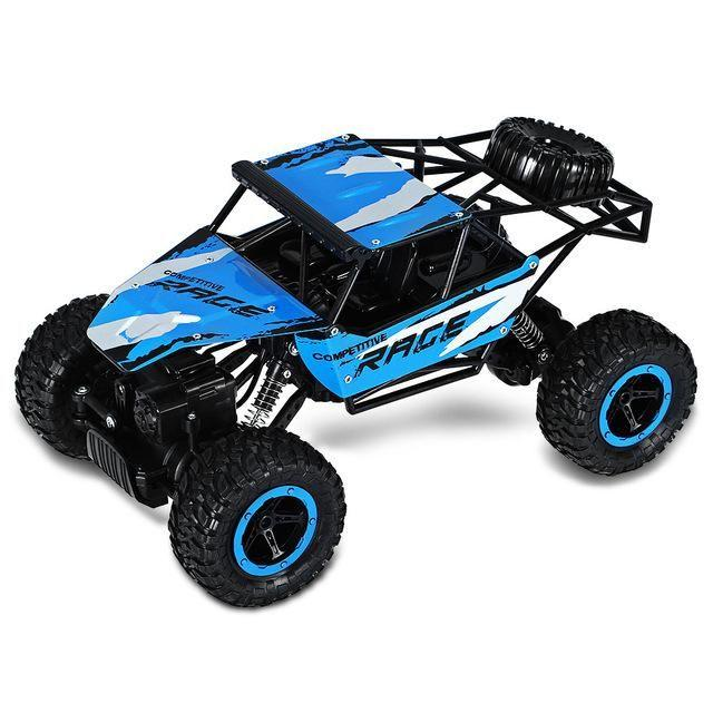 Remote Control JJRC Q15 2.4G 4CH 4WD Rock Crawlers Driving Car 1:14 - Biru