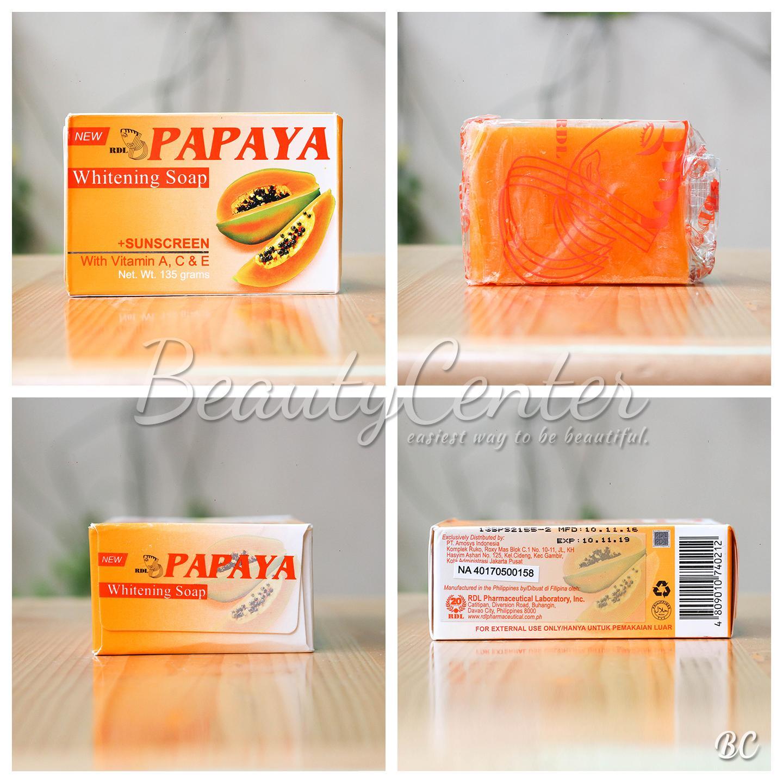 Harga Jual Rdl Sabun Papaya 90gr Asli Pt Amosys Indonesia 18000 Cucumber Beli