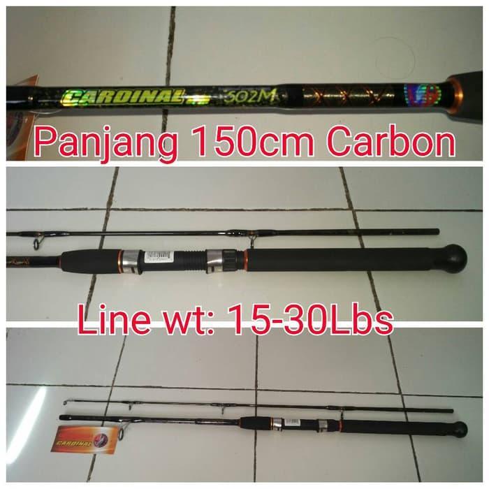 HOT SPESIAL!!! Joran Golden Fish CARDINAL 150cm Carbon(Line Wt :15-30lbs) - 7x7imi