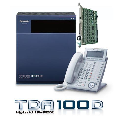 Panasonic IP PABX PBX KX-TDA100D + KX-DT333  Kap. 8 Line - 52 Extension