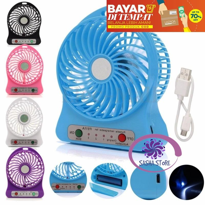 SS Kipas Angin Portable Mini / Kipas angin mini portable / Mini Fan Portable / Kipas angin kecil - Random Color