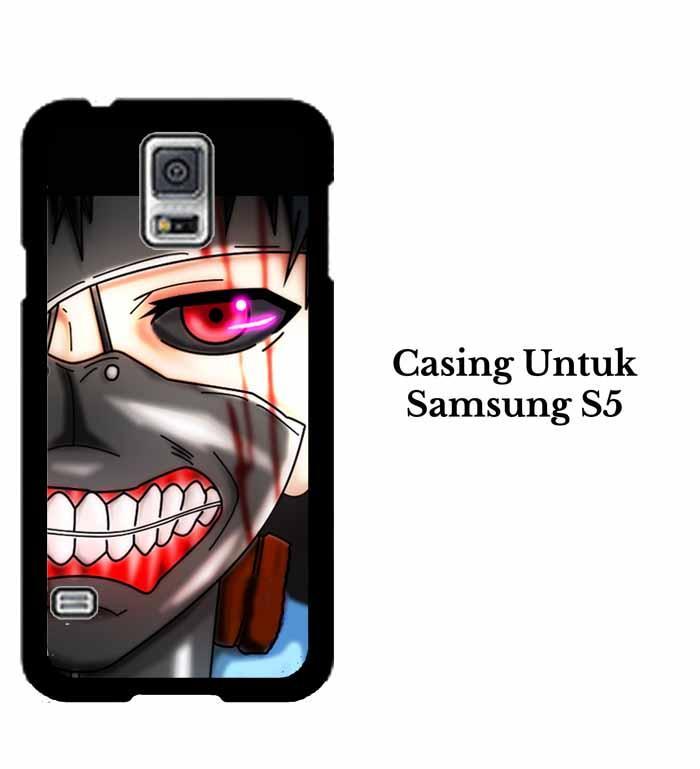 Casing SAMSUNG S5 ken kaneki mas 2 Hardcase Custom Case Se7enstores