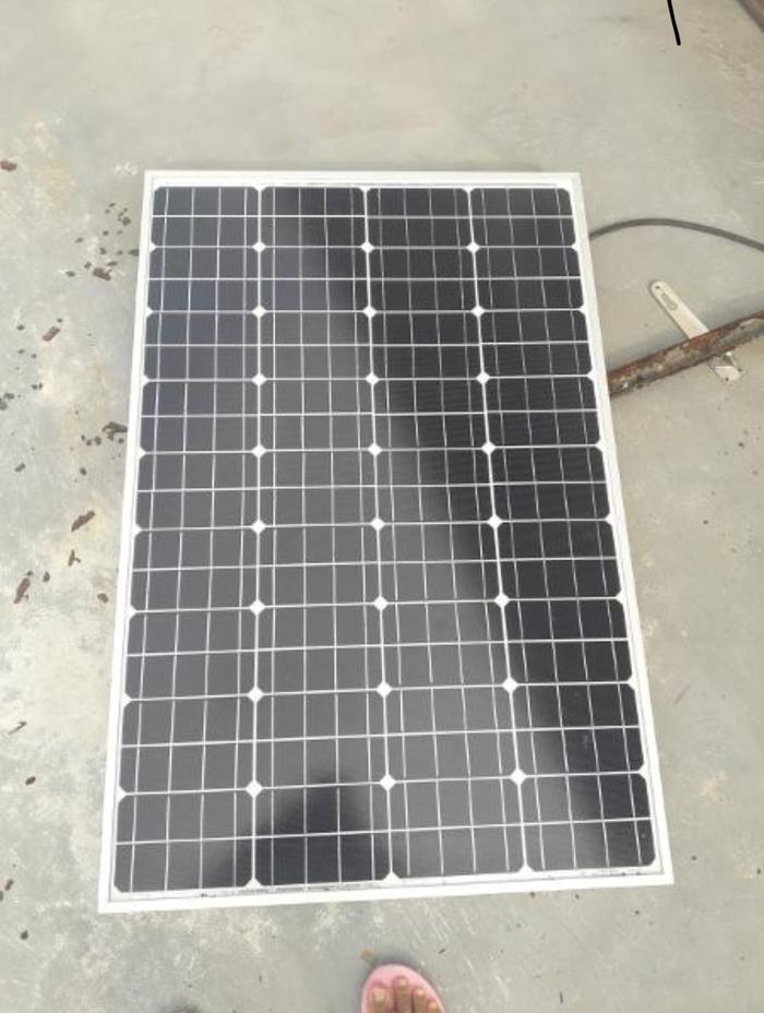 Promo  Solar cell tenaga surya 100 wp monocrystaline  Original