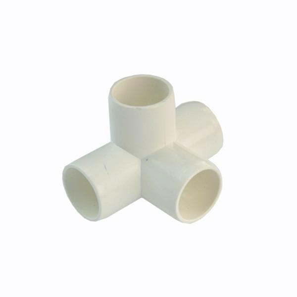 Bibit Bunga Elbow 4 Way Food Grade (Impor) – 27mm / Pipa 3/4″ Ukuran LN