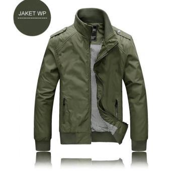 Price Checker Jaket Adventure Wp Hijau Army Polos. Bahan Parasut Mayer Waterproof Anti Air.