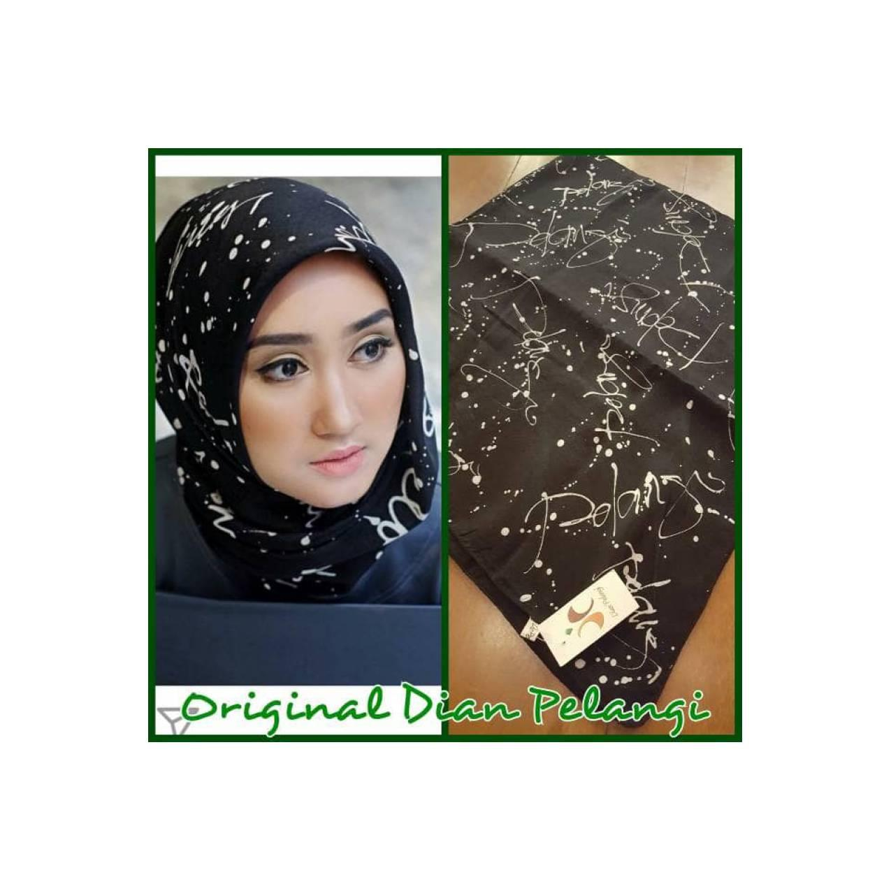 Jilbab Thaisilk Batik Abstrak By Dian Pelangi ( ORIGINAL ) Limited !!!