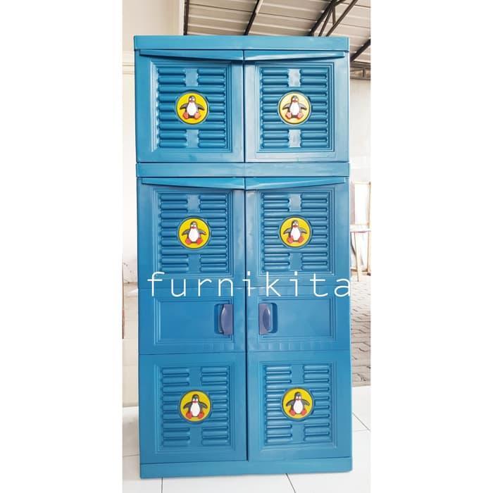 Lemari Pakaian Plastik Gantung Murah By Furnikita Furniture.