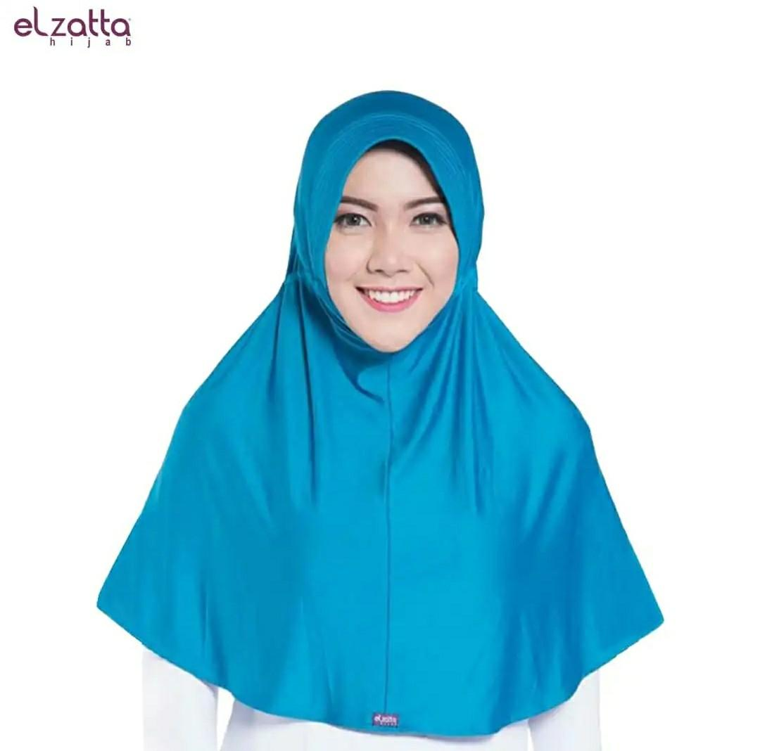 Elzatta Hijab / Jilbab Hi jab Instan Bergo Kerudung Ezatta