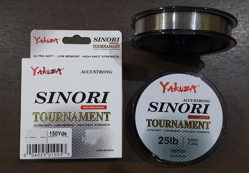 Yakuza Sinori Tournament 0.16mm - 10lb Senar Pancing Accustrong Alat Pancing