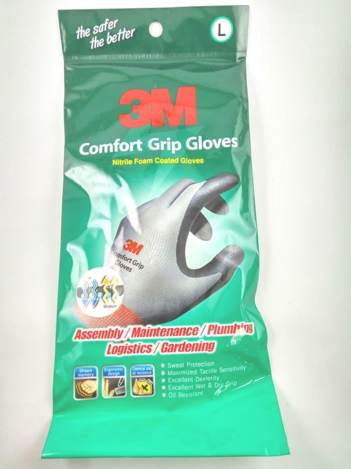 Comfort Grip Gloves / Sarung Tangan 3M size L