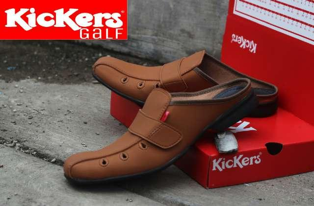 Sepatu Sandal Pria/sepatu Slipon/Sepatu Flat/Sepatu Casual Pria/Sepatu Santai Formal/Sepatu Kicker galf