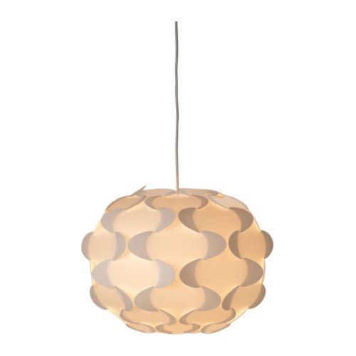 PROMO!! IKEA FILLSTA Lampu gantung, putih, Diameter 35 cm MURAH /  BUBBLE 3 LAPIS / ORIGINAL / IKEA ORIGINAL