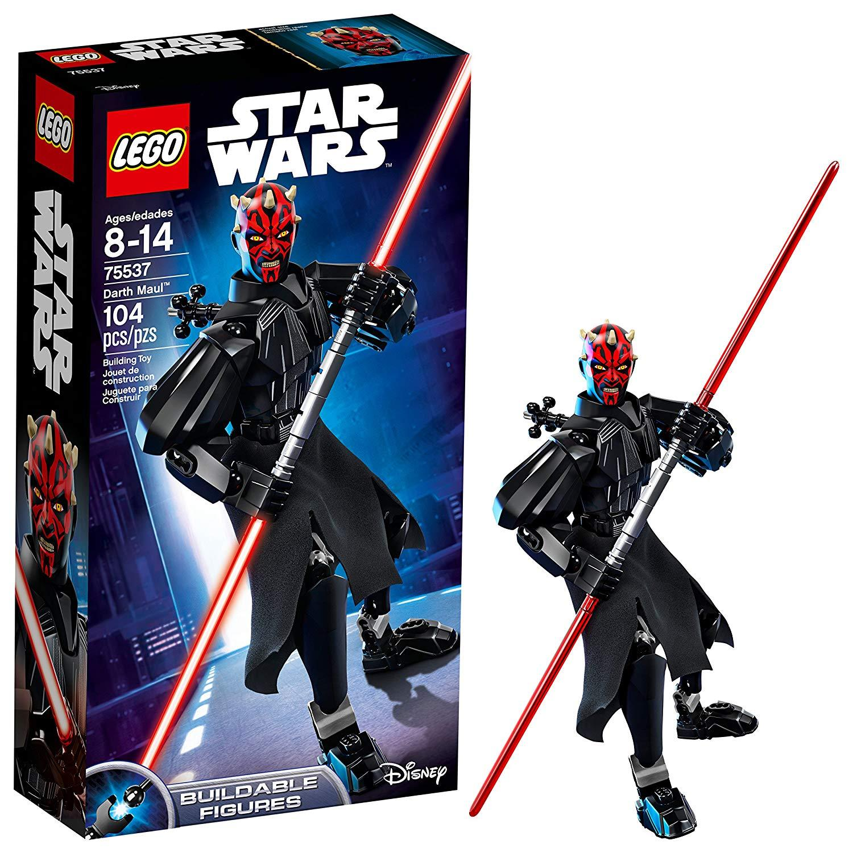 Indonesia. LEGO Star Wars Darth Maul 75537 Buildable Figure Original BNIB