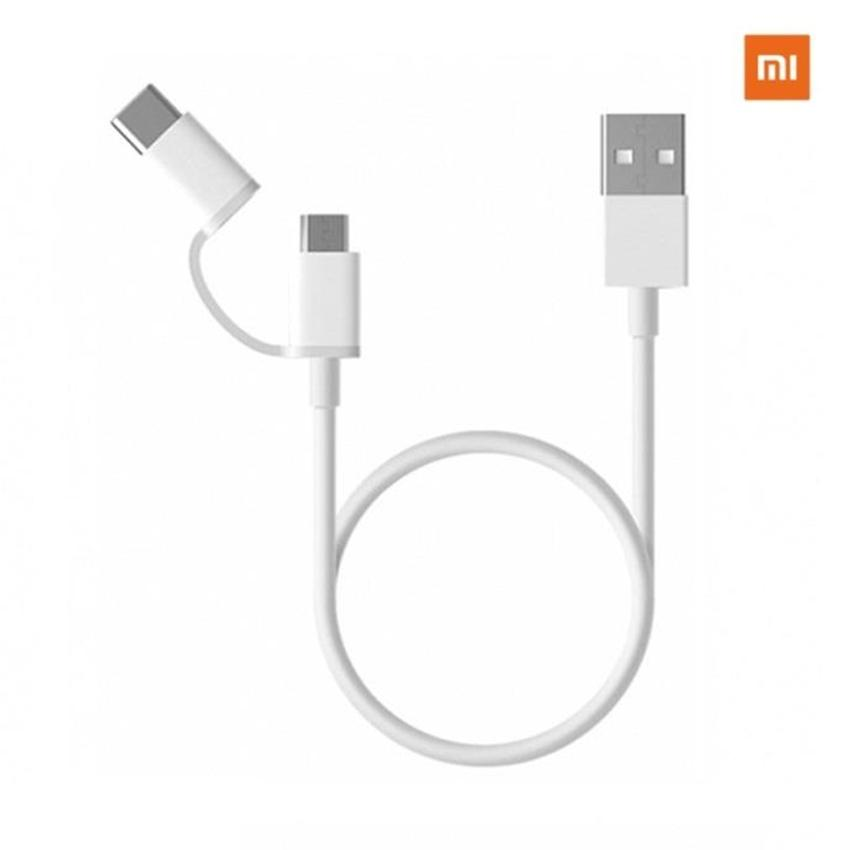 Xiaomi Mi 2-in-1 USB Cable (Micro USB to Type C)