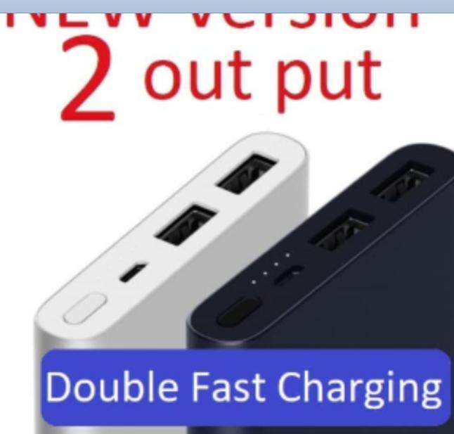 Powerbank Xiaomi Mi Pro 2 10,000mAh FAST CHARGING Power Bank